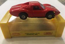 Vintage Aurora HO Slot Car w Case #1376 906 Porsche