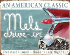 Mels Drive In An American Classic TIN SIGN Metal Diner Restaurant Poster Decor