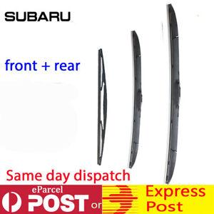 Windscreen Wiper blade Subaru Forester S4 2012-2017 windshield wiper Front+Rear