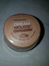 Maybelline Dream Mousse Concealer Corrector, NEW sealed Beige med 0-1 .11 oz 3 g