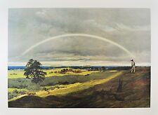 Caspar David Friedrich Landschaft mit Regenbogen Poster Kunstdruck Bild 72x98cm