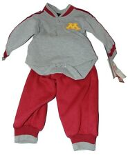 Minnesota Golden Gofers 2 Piece Outfit Size 12 Months Nwt