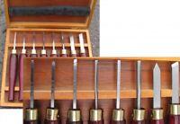 HSS-Mini-Drechselmesser Set 8-tlg. Drechseleisen für Drechselbank Drechselbeitel