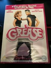 Grease DVD 2 Disc Special Edition With Sing-Along NEW & SEALED FREE POSTAGE