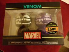 Funko Hikari Venom Figure Set Black & Purple Marvel Limited  Edition 2500 NEW