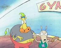 Rocko's Modern Life Original 1990's Producion Cel Gym Snacks