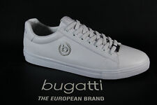 Bugatti Men Sneakers Lace Up Lace-Up White 92901 New