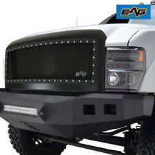 EAG Fit 08 09 10 Ford Super Duty Steel Front Hood Mesh Rivet Replacement Grille