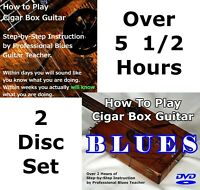 Learn to Play Cigar Box Guitar 2 DVD Disc Set - CBG 3 String