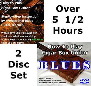 How to Play Cigar Box Guitar 2 Disc Set