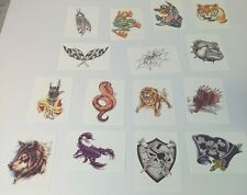 TNT Exclusive Xtreme Temporary Tattoos 2008 Liquid Skin  Lot Of 10 Mixed
