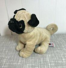 "Ganz Webkinz Pug Dog Plush 8"" Long HM105 NO CODES"