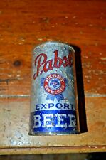 Pabst Export Beer Irtp Open Instructional Flat Top Beer Can off grade 4%Alcohol