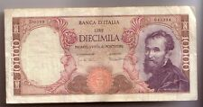 Italia 10000  10.000 lire Mich. 1970 seriale 043394  BB  pick 97e  rif 4132