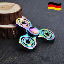 Fidget Spinner metal dedo Pocket tri-bar trompo -- envío desde Alemania --
