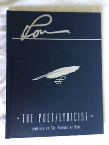 L Ron Hubbard The Poet/Lyricist Compiled By The Friends of Ron 1995 HC