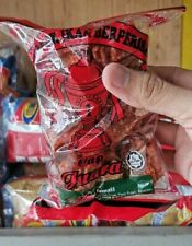 Dried Fish Cracker Snack Keropok Ikan Cap Juara (1 box/8pcs) + Free Chili Sauce