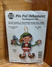 ELF Pin Pal Ornament NEEDLEPOINT KIT 5605 Holiday Christmas New! Sealed package!