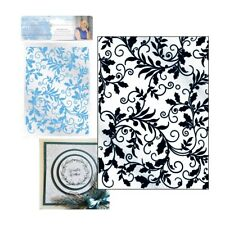 Christmas Entwined Holly Embossing Folder Crafter's Companion Folders 5x7 Leaves