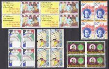 kavel blokjes van 4 zegels 1980 (2) postfris (MNH)