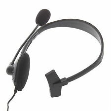 Headset W/ Microphone for Microsoft Xbox 360 Live Games Earphones Headphones xH