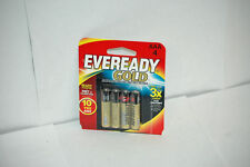 Eveready Gold Alkaline Batteries AAA 4 ea (Pack of 2)