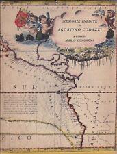 Memorie inedite di Agostino Codazzi, Mario Longhena, Alpes, 1930, viaggi