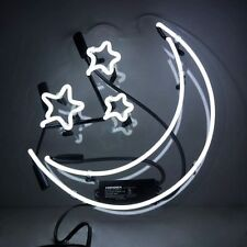 """MOON & STAR Home Wall Room Night Bed Sofa TV Lamp Poster NEON Light Sign 10""""x9""""c"""