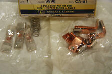 SQUARE D 9998-CA-81 3 Pole Contact Kit For Size 1 Type C Series A & B New in Box