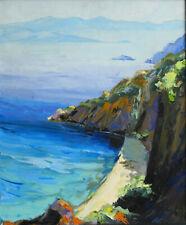 KERFILY - Huile sur toile - 55 x 46 cm