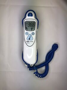 Covidien Genius 2 Tympanic/Ear Thermometer And Base - 16 Probe Covers Included
