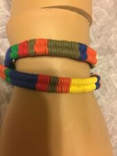 polo ralph lauren stylish wrist band bracelet Multicolor   toggle closure