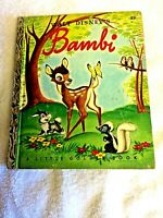 Walt Disney Bambi vintage Little Golden Picture Book by M. Reed 1948