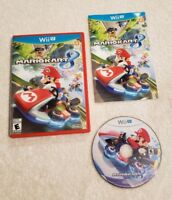 Mario Kart 8 Nintendo Wii U COMPLETE Video GAME