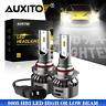 AUXITO 9005 HB3 LED Headlight Bulb High Beam 6000K Super Bright HID White 2PC EH