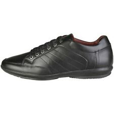 V 1969 Raoul Black Mens Leather Lace Up casual Trainer UK 8 EU 42 LN15 85