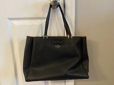 Kate Spade Handbag Black Pink Interior
