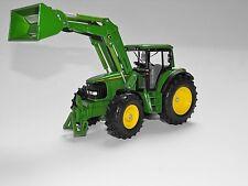 Siku Famer 3652 John Deere Traktor mit Frontlader Wechselsystem  1:32 Bauernhof