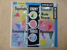 Stravinsky - Ebony Concerto - London - Goossens - EVEREST (01327)