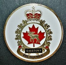 Canadian Forces Base Gagetown Uniface Medallion