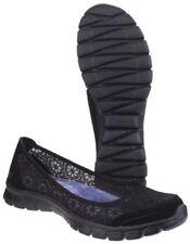 36 Scarpe da ginnastica nere Piatto (Meno di 1,3 cm) per donna