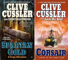 Golden Buddha, Spartan Gold, Corsair by Clive Cussler - Paperbacks
