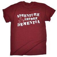 Adventure Before Dementia ™ DIRT BIKE T Shirt - slogan tee gift funny biker xmas