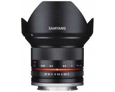 SAMYANG 1220506101 für Sony E-Mount 12mm, F2.0 Objektiv, Weitwinkelobjektiv