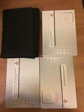 MITSUBISHI ECLIPSE CROSS HANDBOOK OWNERS MANUAL 2017-2019 WALLET PACK
