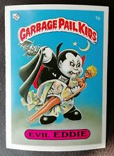 More details for evil eddie 1b uk garbage pail kids series 1(1985)topps~mint~pack fresh~centered!