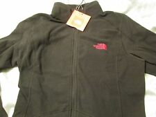 NEW The North Face Womens Ceila Full Zip Jacket Fleece Long Slv Blk Sm MUST SEE!