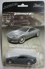 Fast Furious 7 Movie Deckard Shaw Aston Martin DB9 Custom Hot Wheels Statham