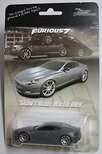 Fast Furious 7 Movie Deckard Shaw Aston Martin DB9 Custom Hot Wheels Statham