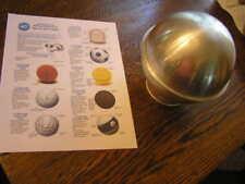 Wilton 3~D SPORTS BALL Cake Pan Mold #502-3002 w/ Instructions & Base